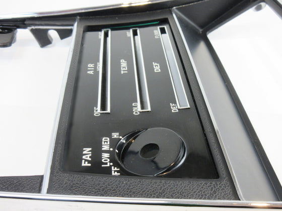 Heater control panel for 1973 Datsun 240Z NOS [LAST ONE!!]