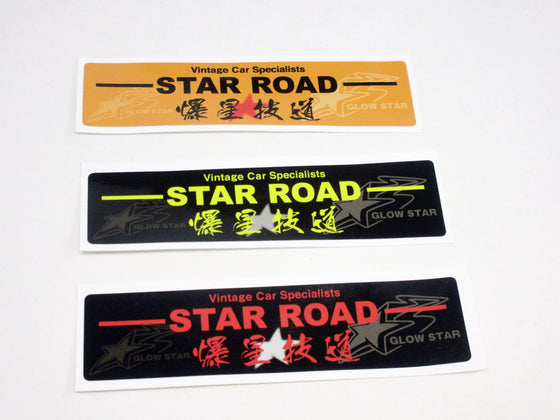 Star Road Decal