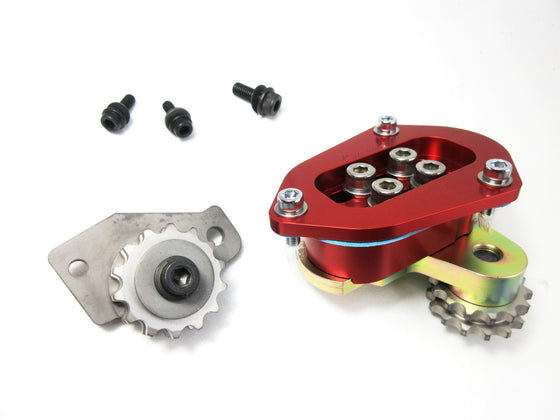 L6 High Performance twin idler gear kit by Kameari Engine Works in 3 different colors