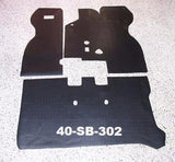 Rubber floor mat set for Subaru 360 sedan LHD / RHD