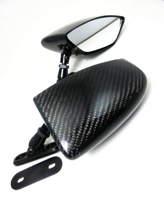 Star Road Carbon Fiber Mirror Set for Datsun 240Z 260Z 280Z Skyline Hakosuka