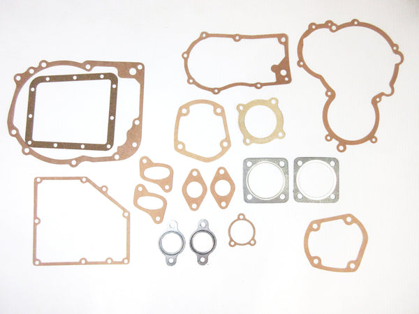 Complete engine & transmission gasket 17 PC set for Subaru 360 sedan / Sambar Van/ Truck