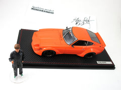 Star Road Super Wide Body Car by Ignition Model 1/18 Limited Edition with Shoji Inoue Figure