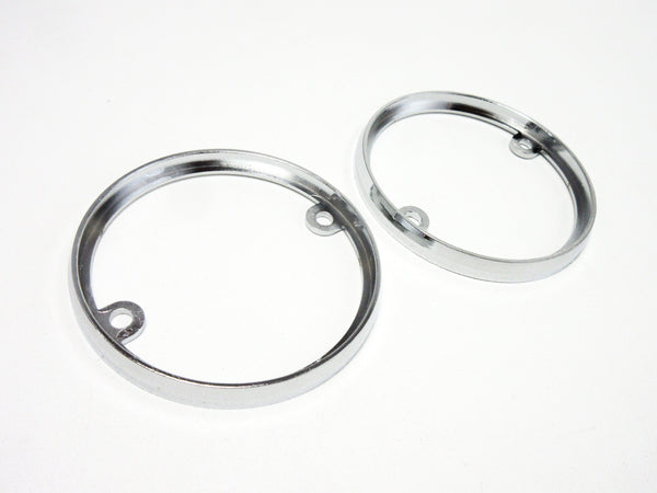 Front parking lamp trim ring set for Subaru 360 sedan