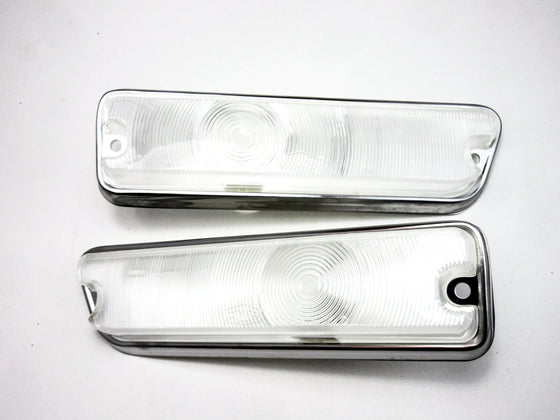 1969-Style Front Lamp Set For Skyline Hakosuka