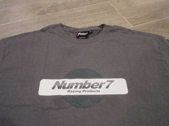Number 7 Graphic Logo Tee (Gray)