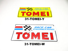 Tomei Racing Car Engineering Decal White / Yellow