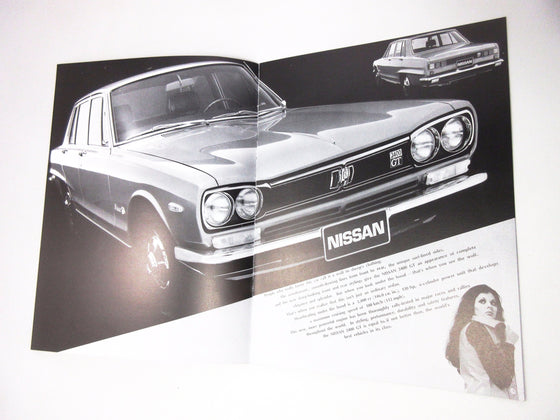 Skyline Hakosuka 2000GT series Catalog in English reproduction