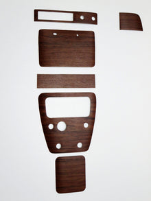 Console and Dash Wood Grain 6 pc kit for Skyline Hakosuka Late Type