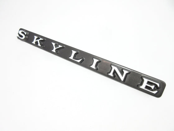 Nissan Skyline Kenmeri Rear panel Emblem