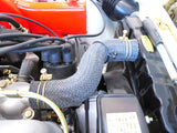 Braided radiator hose set for Datsun 240Z