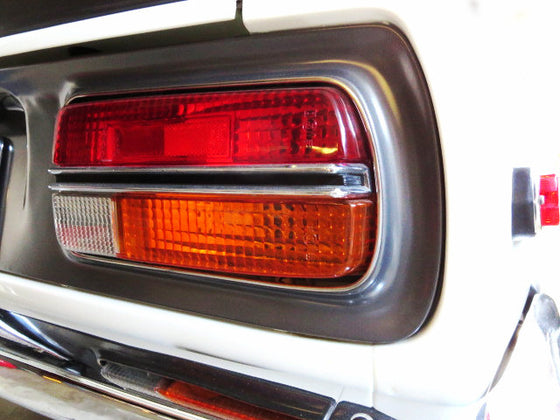 Tail Light Center Chrome Molding Set for Datsun 240Z