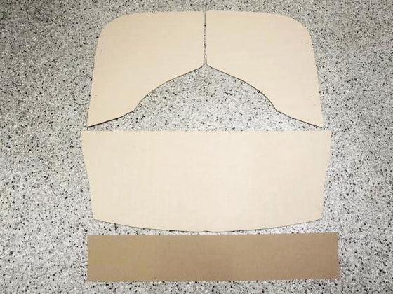 Door Panel & Interior Panel 6 pc set for Subaru 360 sedan