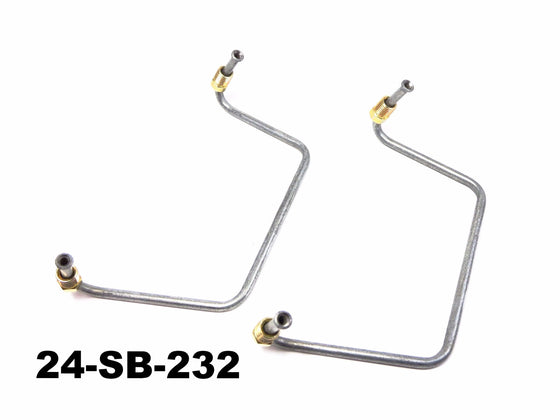 Front Brake Inlet Pipe set for Subaru 360 sedan / Sambar Van / Truck