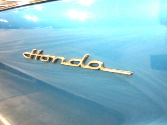 Honda S600 / S800 Fender Emblem Early Type Aluminum NOS