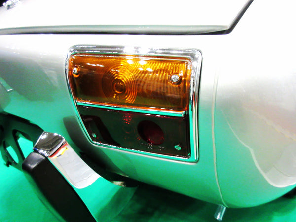 Toyota Sports 800 tail light lens center molding