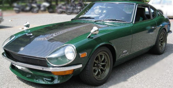 NISMO type front spoiler in Carbon Fiber finish for Datsun 240Z 260Z 280Z (NO INT'L SHIPPING)