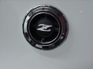 Quarter panel emblem set for Datsun 240Z, 260Z, and 280Z
