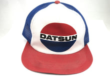 Datsun baseball cap New Old Stock from Late 70's or ealry 80's Blue / Red / White