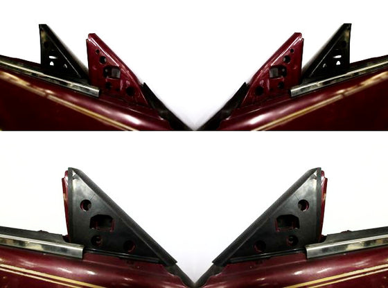 Datsun Nissan 300ZX Z31 Side Mirror to Door Triangle Seal set