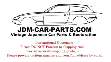 JDM Car Parts, Parts and accessories for Vintage Japanese cars