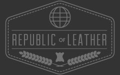 Republic of Leather Footer Logo