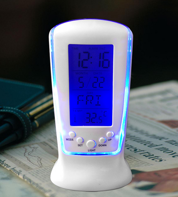 Multi-function LED Digital Clock