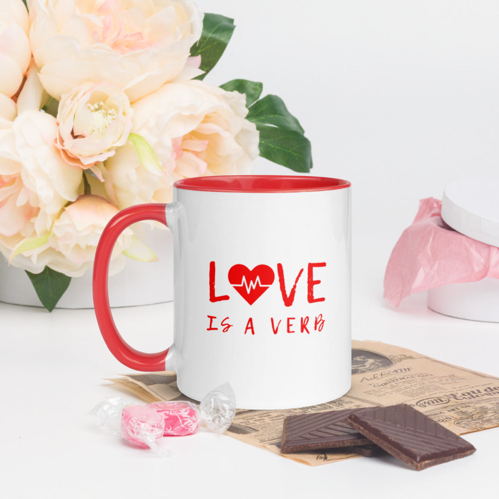Love is a Verb Mug
