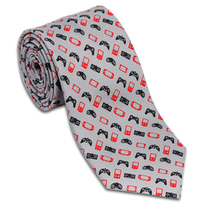 Video Game Controllers Necktie