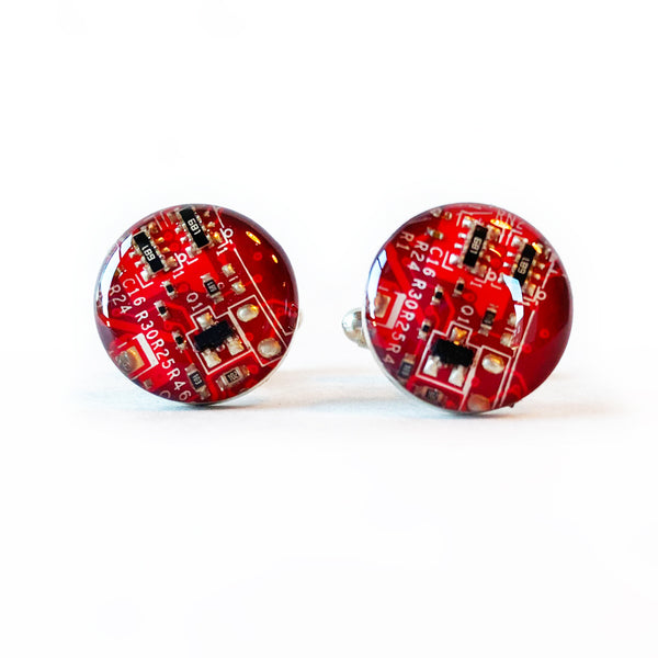 Motherboard Microchip Cuff links