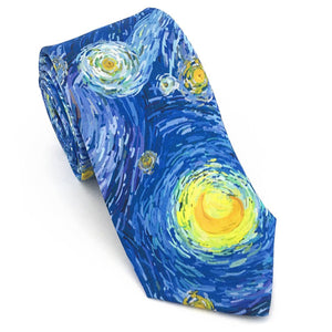 Starry Sky Art Necktie