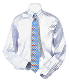 Badminton Birdies (Shuttlecocks) Necktie