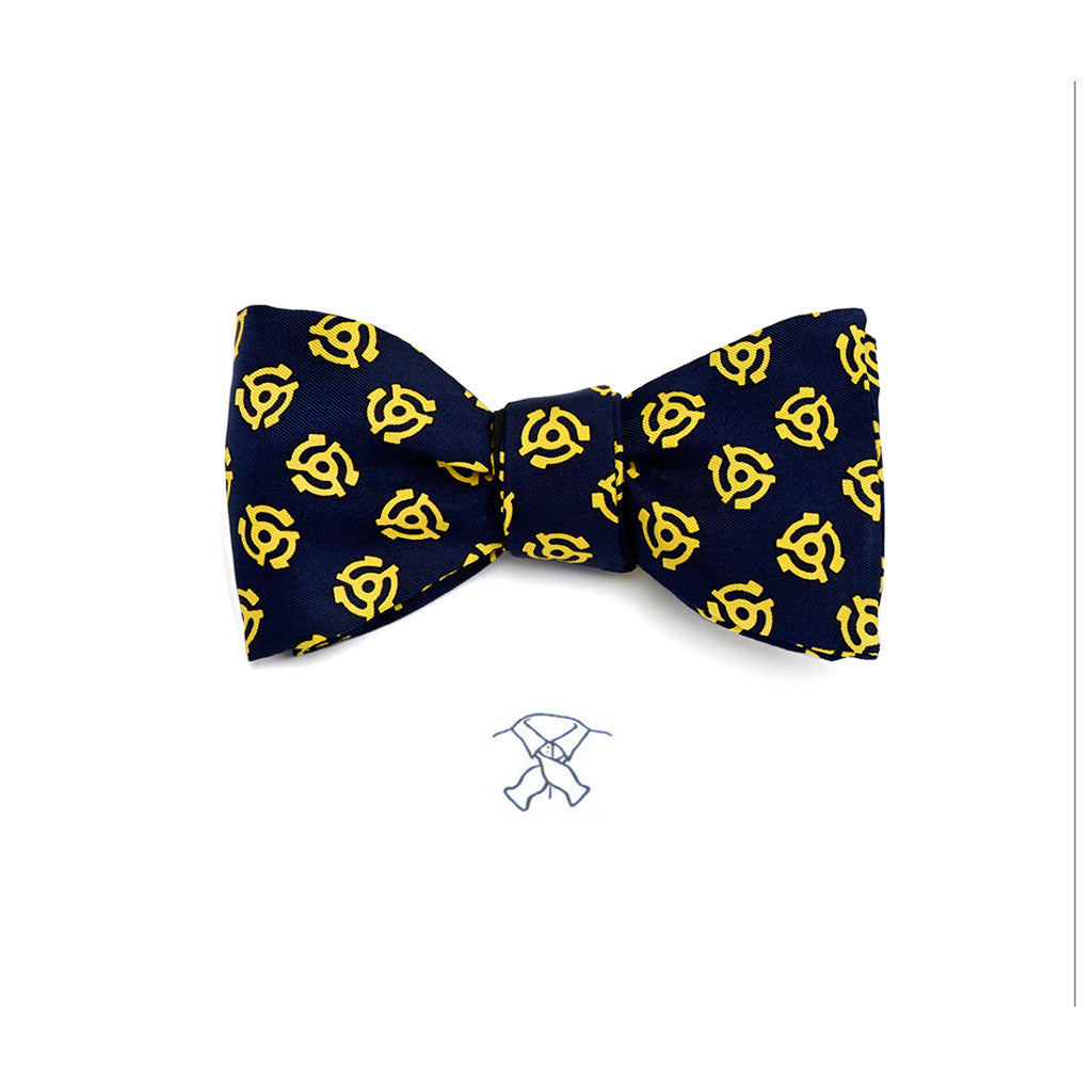 45 Record Adaptor Bow Tie