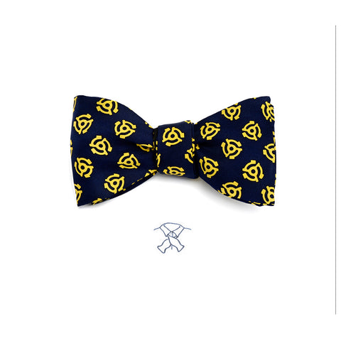 45 Record Adaptor Bow Tie - Boys