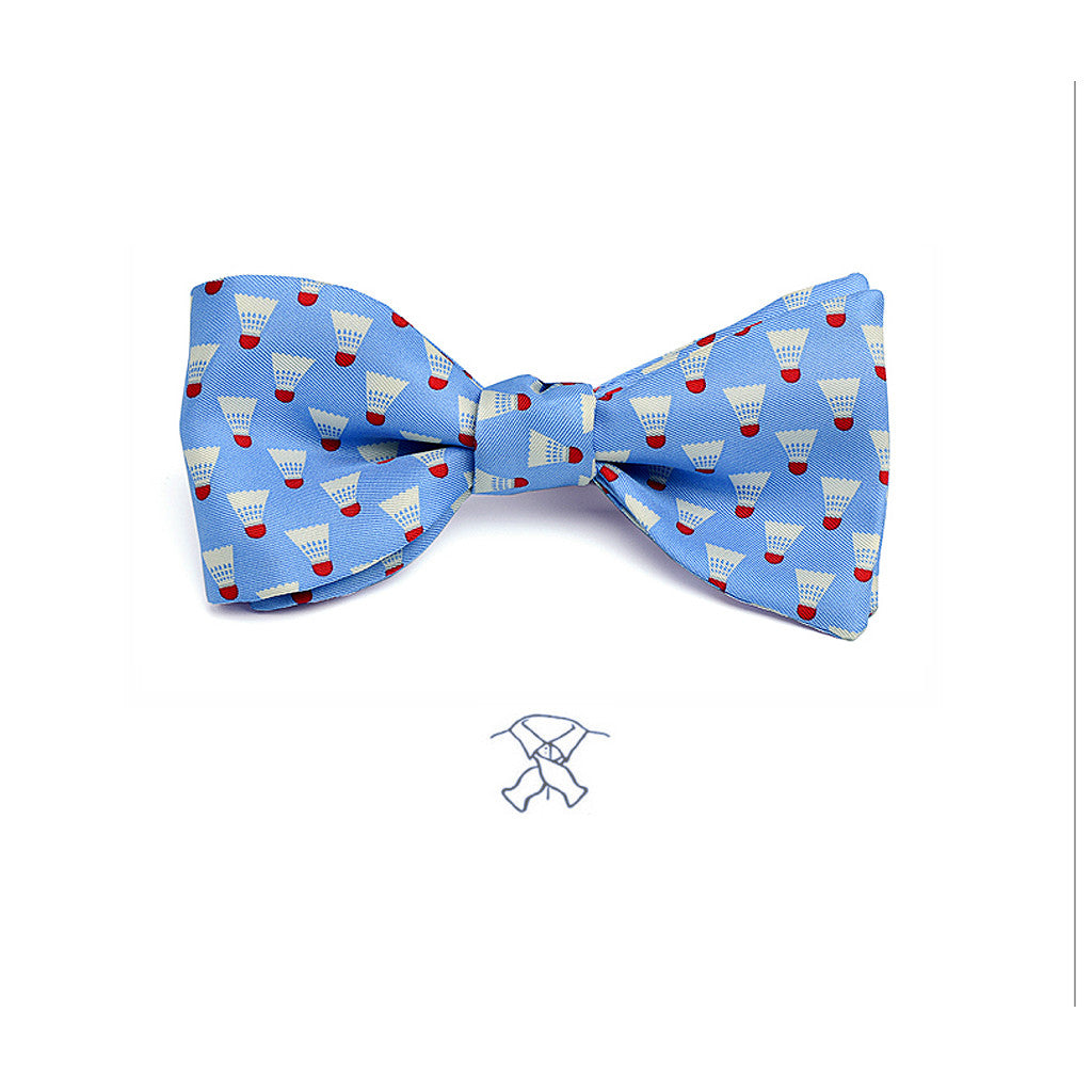Badminton Birdies (Shuttlecocks)  Bow Tie