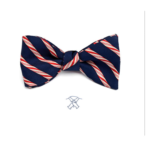 Candy Canes Bow Tie