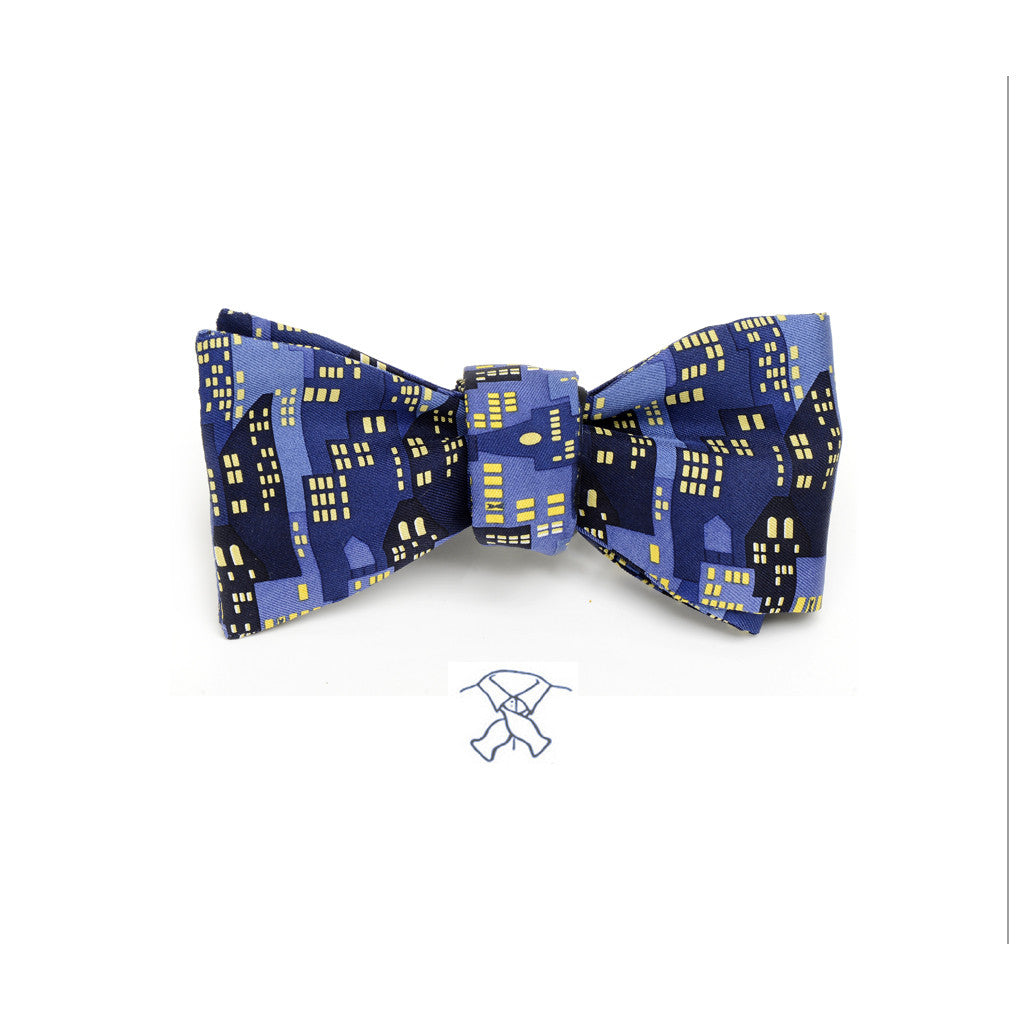 City Lights Bow Tie