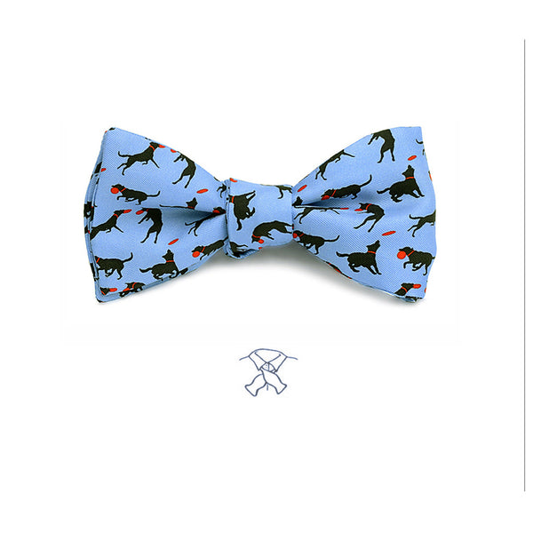 Disc Dog Frisbee Bow Tie