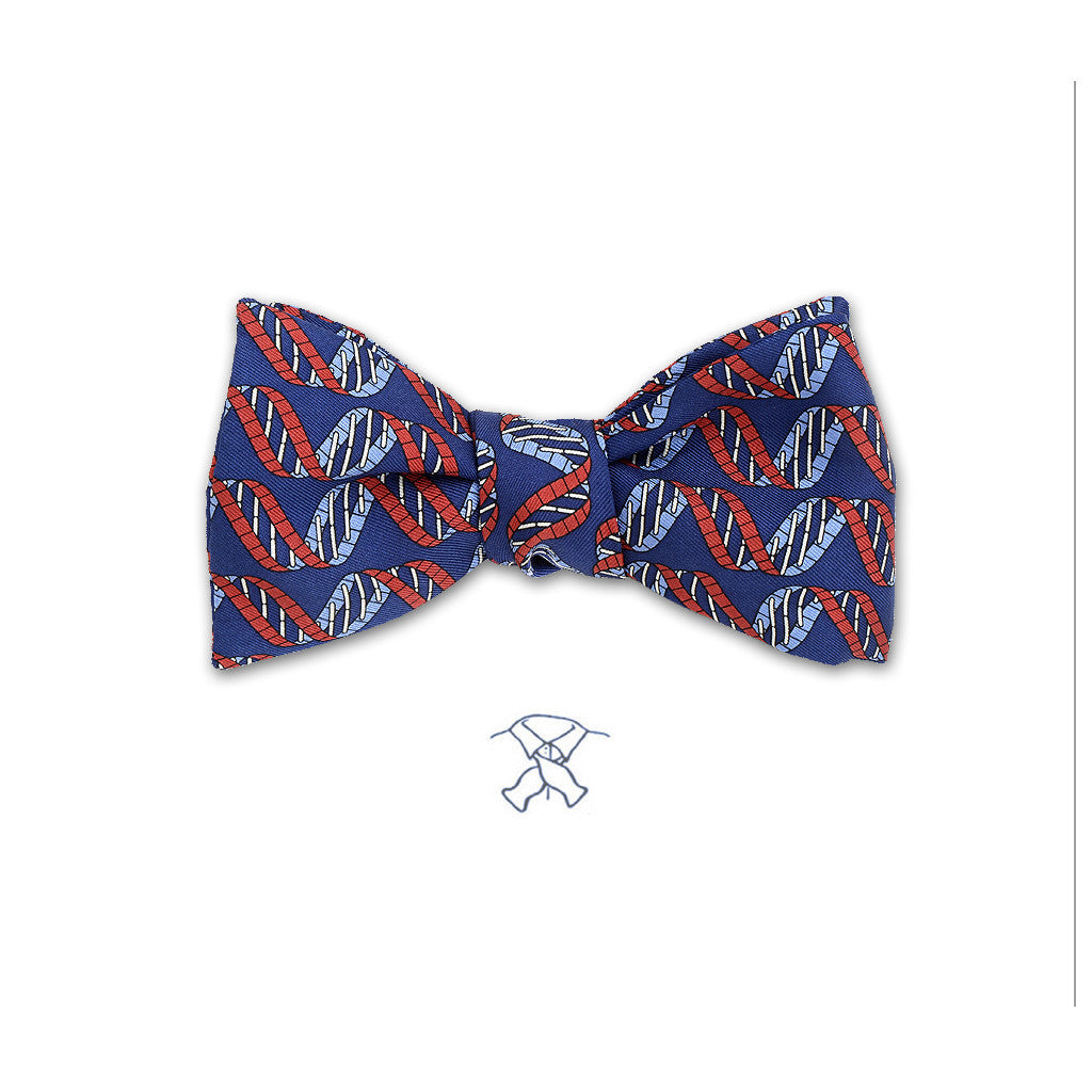 DNA Strand Bow Tie - Boys