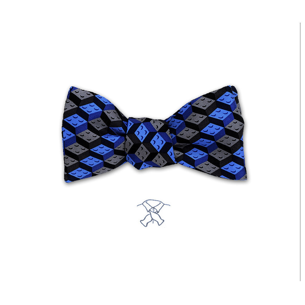 Building Blocks Bow Tie - Boys