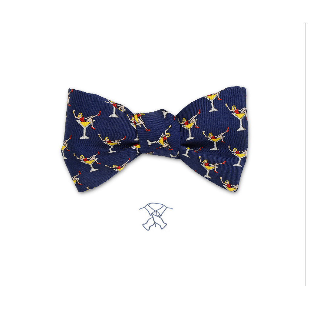 Martini Girls Bow Tie