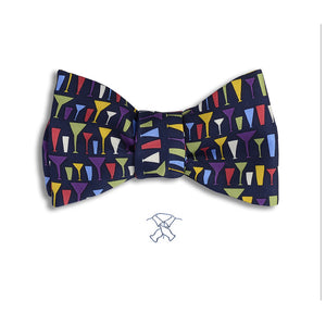 Mod Cocktail Drinks Bow Tie