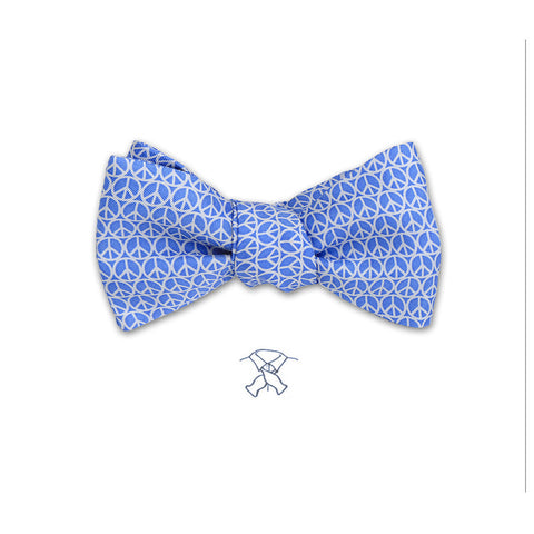 Peace Sign Bow Tie - Boys