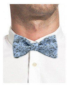 Pigeons from New York City Bow Tie