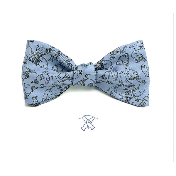 Pigeon from New York CIty Bow Tie