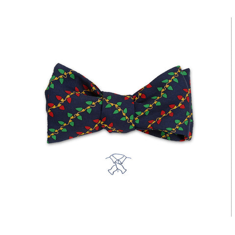 Christmas Lights Bow Tie - Boys