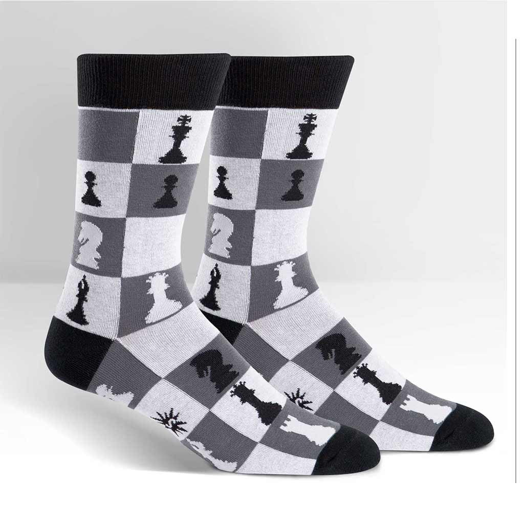 Chess Checkmate on Socks
