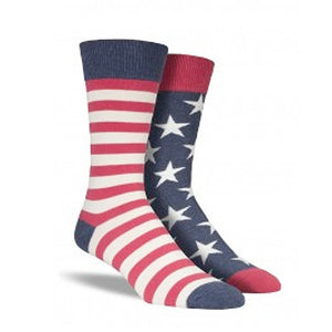 Flag (Stars and Stripes) Socks