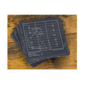 Greatest Plays Coasters - Giants Football