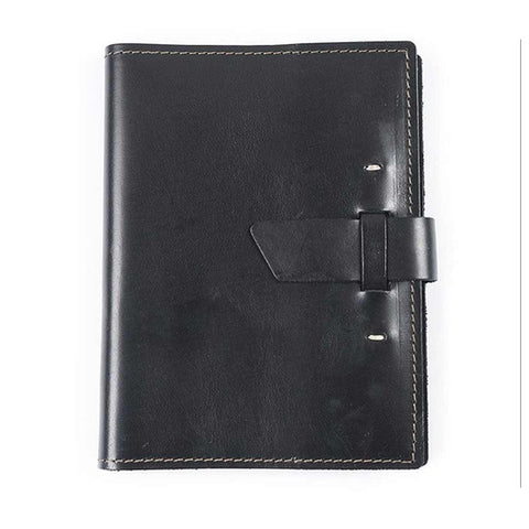 Switchback Leather Notebook - Black